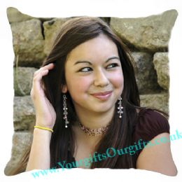 Photo Cushion, Personalised Cushion On Both Sides with Different Photos, message